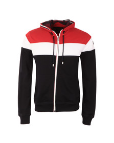 Paul & Shark Mens Multicoloured Triple Panel Full Zip Hoody