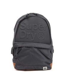 Superdry Womens Blue Lineman Embossed Montana Backpack