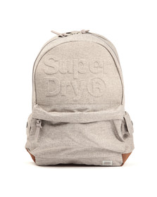 Superdry Womens Grey Lineman Embossed Montana Backpack