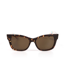Kate Spade Womens Brown Alora Sunglasses