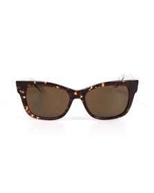 Kate Spade Womens Brown Alora Sunglasses