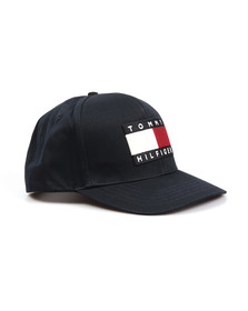 Tommy Hilfiger Mens Blue Tommy Cap
