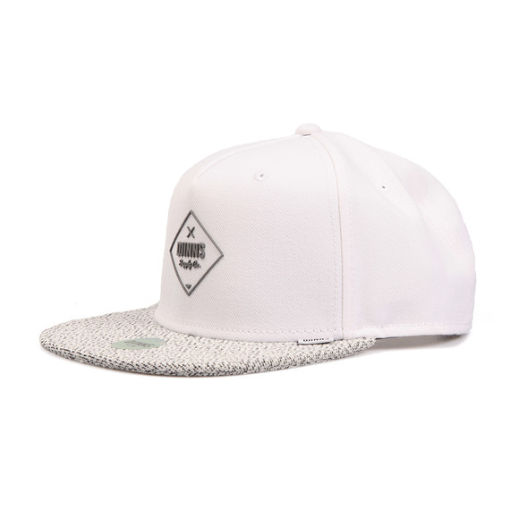 Djinns Mens White Squeeze Snapback main image