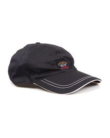 Paul & Shark Mens Blue Plain Cap