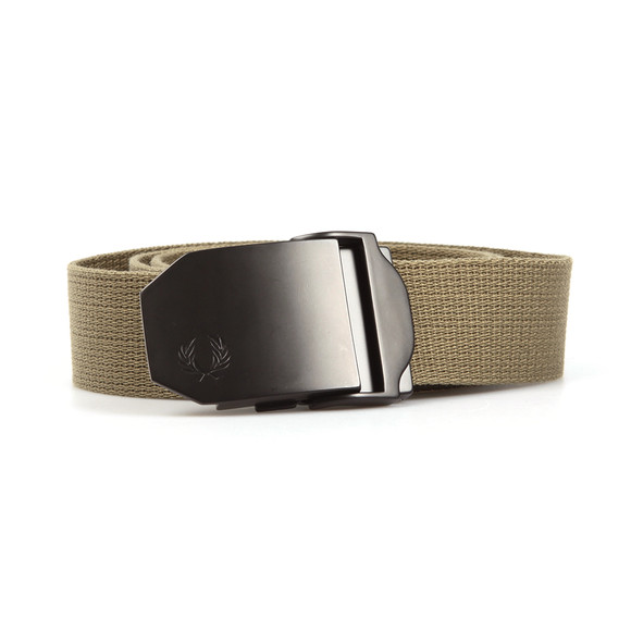 Fred Perry Mens Green Solid Webbing Belt main image