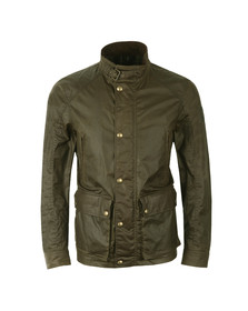 Belstaff Mens Green New Tourmaster Wax Jacket