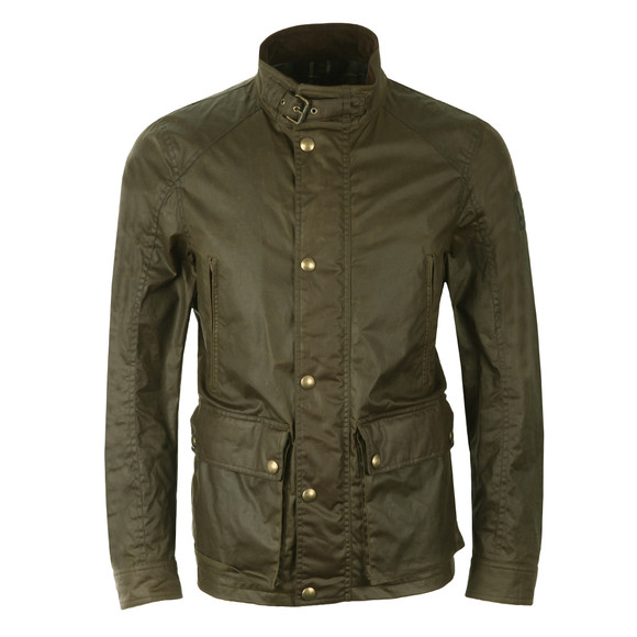 Belstaff Mens Green New Tourmaster Wax Jacket main image