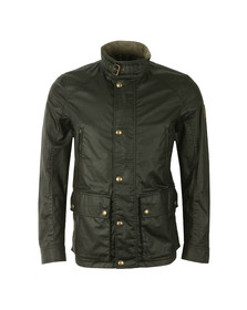 Belstaff Mens Black New Tourmaster Wax Jacket
