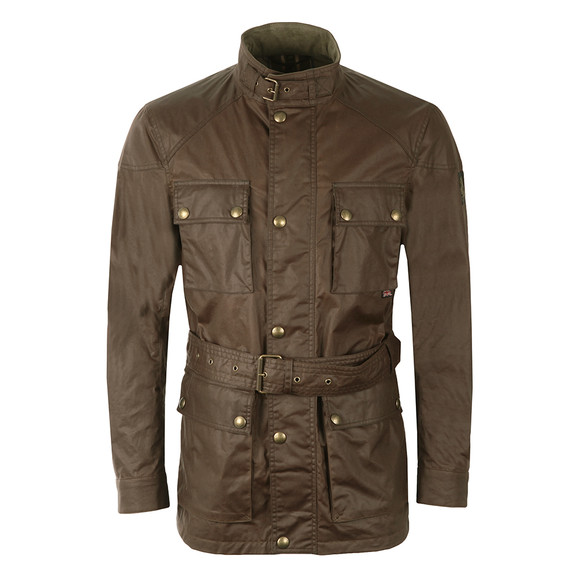 Belstaff Mens Red Roadmaster Jacket main image
