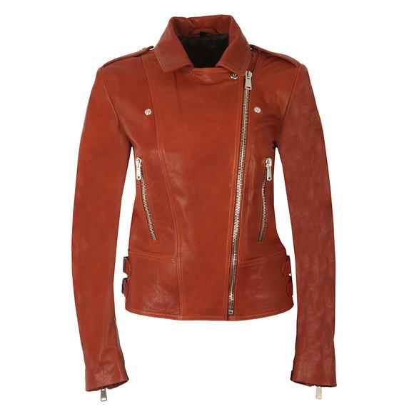 Belstaff Womens Red Marvingt Leather Blouson main image