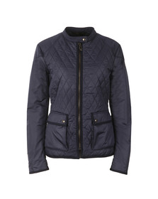 Belstaff Womens Blue Randall Quilted Jacket
