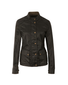 Belstaff Womens Black Longham Jacket