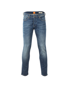 Boss Orange Mens Blue 90 Tapered Jean