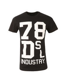 Diesel Mens Black Diego ND T Shirt