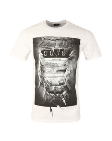 Diesel Mens White Joe OA T Shirt
