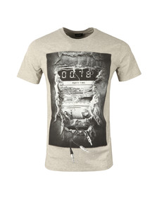 Diesel Mens Grey Joe OA T Shirt