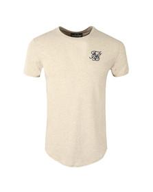 Sik Silk Mens Grey Short Sleeve Gym T Shirt