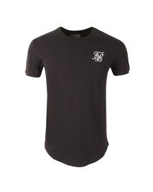 Sik Silk Mens Blue Short Sleeve Gym T Shirt