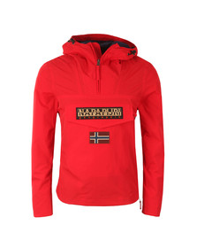 Napapijri Mens Red Rainforest Summer Jacket