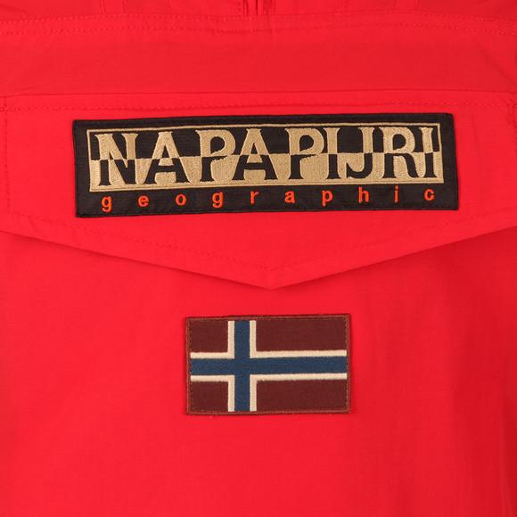 Napapijri Mens Red Rainforest Summer Jacket main image