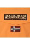 Napapijri Mens Orange Rainforest Summer Jacket