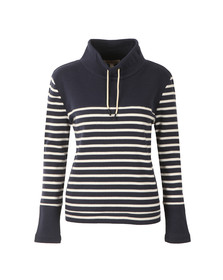 Barbour Lifestyle Womens Blue Rief Sweat
