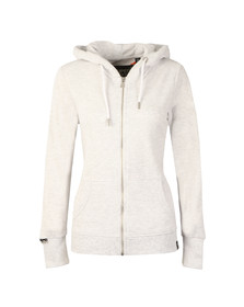 Superdry Womens Grey OL Luxe Lite Edition Zip Hoody