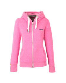 Superdry Womens Purple Orange Label Primary Zip Hoody