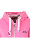 Superdry Womens Purple Orange Label Primary Zip Hoody