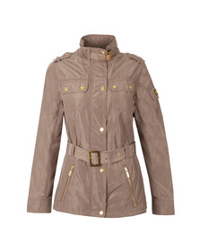 Barbour International Womens Beige Swingarm Casual Jacket