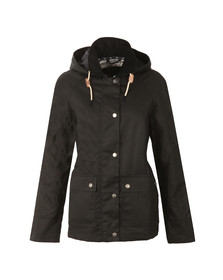 Barbour Lifestyle Womens Blue Rief Wax Jacket