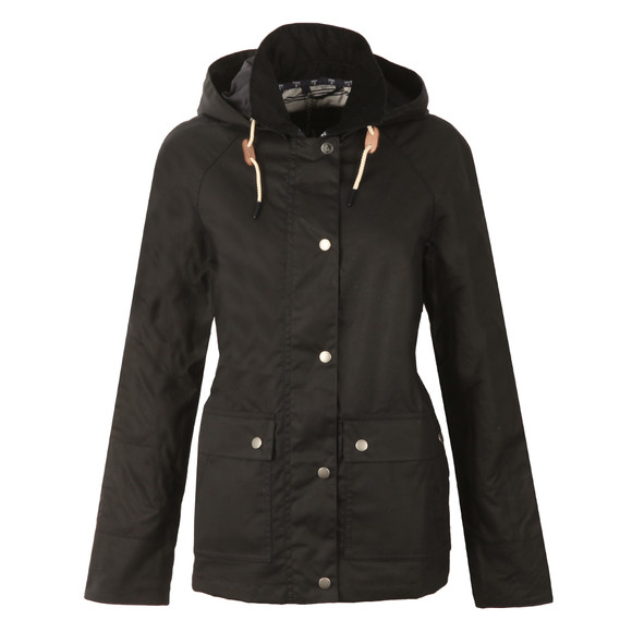 Barbour Lifestyle Womens Blue Rief Wax Jacket main image