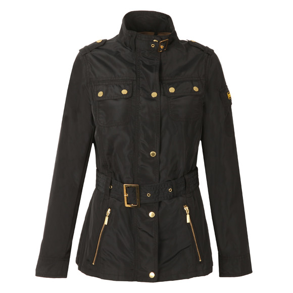 Barbour International Womens Black Swingarm Casual Jacket main image