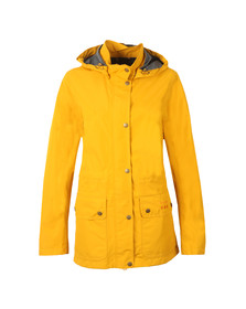 Barbour Lifestyle Womens Yellow Cirrus Jacket