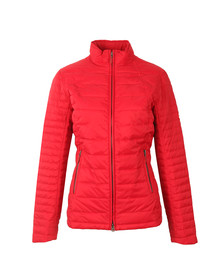 Barbour Lifestyle Womens Red Chock Quilt