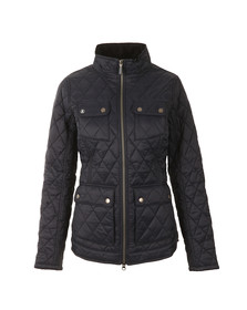 Barbour Lifestyle Womens Blue Dolostone Quilt