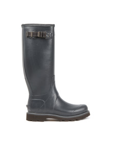 Hunter Mens Blue Balmoral II Wellington Boot