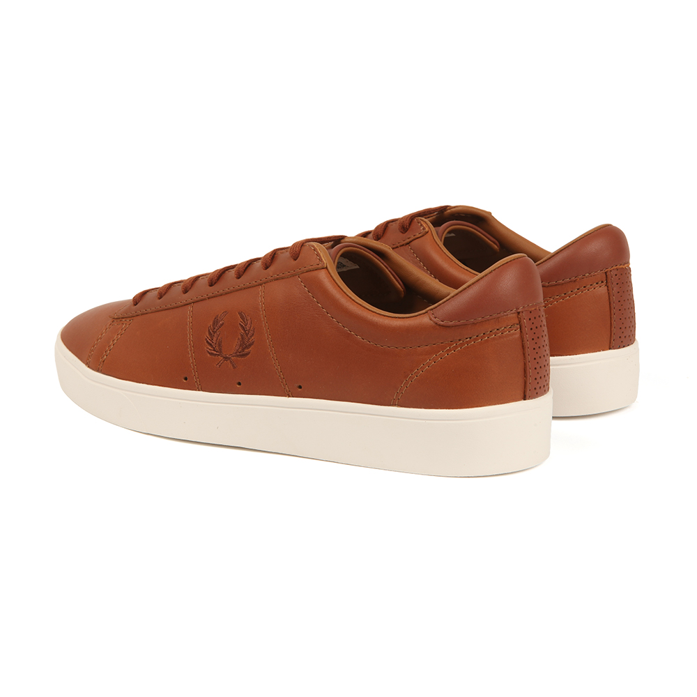 low price hot sales super popular Fred Perry Sportswear Spencer Leather Trainers | Oxygen Clothing