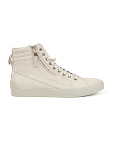 Diesel Mens White D String Plus Hi Top