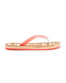 Superdry Womens Multicoloured Cork Colour Pop Flip Flop