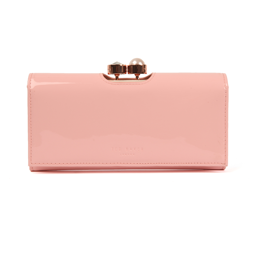 f6e5cbfb8cf Ted Baker Womens Pink Cecilie Pearl Bobble Patent Matinee Purse main image.  Loading zoom