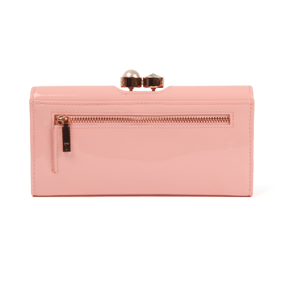 11f3bb5022a Ted Baker Cecilie Pearl Bobble Patent Matinee Purse | Oxygen Clothing
