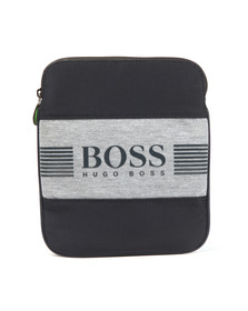 Boss Green Mens Blue Pixel J Small Bag