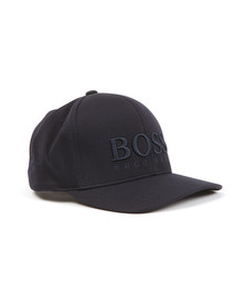 Boss Green Mens Blue Large Logo Cap
