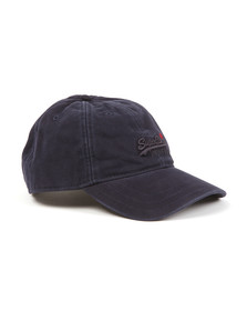 Superdry Mens Blue Super Solo Cap