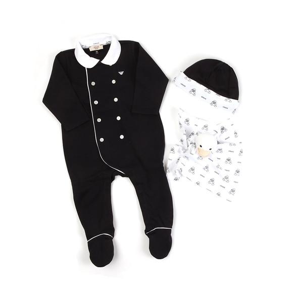 Armani Baby Boys Blue Gift Box Set main image