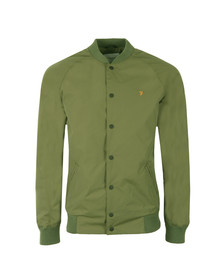 Farah Mens Green Bellinger Bomber Jacket