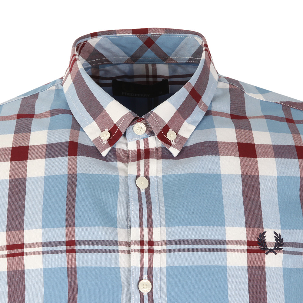 ed1d5a17c Fred Perry S S Bold Check Shirt