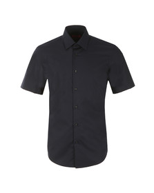 Hugo Mens Blue Enzino Short Sleeve Shirt