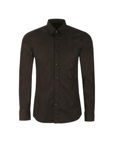 Hugo Mens Black Elisha Slim Shirt